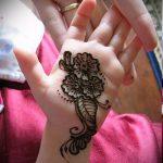 mehendi auf ihrem Arm ein wenig - Bild temporäre Henna-Tattoo 3063 tatufoto.ru