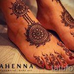 mehendi auf ihren Zehen - Optionen für temporäre Henna-Tattoo auf 05082016 1047 tatufoto.ru
