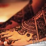 mehendi designs on the foot - options for temporary henna tattoo on 05082016 1057 tatufoto.ru