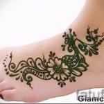 mehendi faciles sur sa jambe - options pour tatouage au henné temporaire sur 05082016 1061 tatufoto.ru
