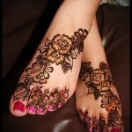 mehendi flowers foot - options for temporary henna tattoo on 05082016 1065 tatufoto.ru