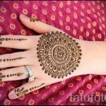 mehendi on a hand photo for girls - a temporary henna tattoo photo 3093 tatufoto.ru