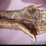 mehendi on a hand photo pictures - Photo of temporary henna tattoo 1094 tatufoto.ru