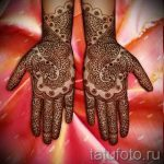 mehendi on a hand photo pictures - Photo of temporary henna tattoo 2095 tatufoto.ru
