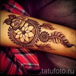 mehendi on foot Dreamcatcher - options for temporary henna tattoo on 05082016 1071 tatufoto.ru