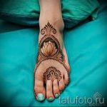 mehendi on foot lotus - options for temporary henna tattoo on 05082016 1073 tatufoto.ru