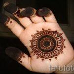 mehendi on hand at home - a temporary henna tattoo photo 1098 tatufoto.ru