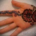 mehendi on hand for boys - Picture temporary henna tattoo 1105 tatufoto.ru