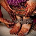 mehendi on her hand and foot - options for temporary henna tattoo on 05082016 2074 tatufoto.ru
