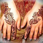 mehendi on her hand drawing - photo temporary henna tattoo 1125 tatufoto.ru