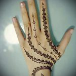 mehendi on the fingers - a temporary henna tattoo photo 1129 tatufoto.ru