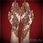 mehendi on the hand - a temporary henna tattoo photo 1131 tatufoto.ru