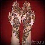 mehendi on the hand - a temporary henna tattoo photo 1131 tatufoto.ru