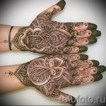 mehendi on the hand-eye - a temporary henna tattoo photo 1132 tatufoto.ru