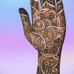 mehendi on the inside of the arm - photo temporary henna tattoo 1134 tatufoto.ru