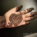 mehendi on the left hand photo - Photo temporary henna tattoo 1135 tatufoto.ru