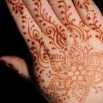mehendi peinture sur les mains - photo temporaire tatouage au henné 1141 tatufoto.ru