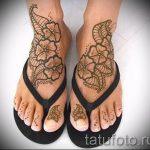 mehendi sur leurs orteils - options pour tatouage au henné temporaire sur 05082016 1091 tatufoto.ru