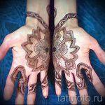 mehendi sur un serpent à la main - les photos de tatouage au henné temporaire 1175 tatufoto.ru