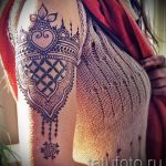 mehendi tattoo on his arm - a temporary henna tattoo photo 1187 tatufoto.ru