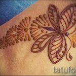 mehendi zu Fuß Butterfly - Optionen für temporäre Henna-Tattoo auf 05082016 1099 tatufoto.ru