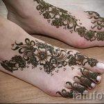 motifs au henné sur sa jambe photo - options pour tatouage au henné temporaire sur 05082016 1104 tatufoto.ru