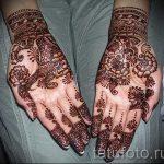 motifs mehendi sur la main - une photo de tatouage au henné temporaire 2192 tatufoto.ru