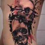 photo - cool skull tattoo - an example 1046 tatufoto.ru