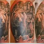 photo - cool tattoo bear - an example 1050 tatufoto.ru