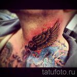 photo - cool tattoo on his neck - an example 1067 tatufoto.ru