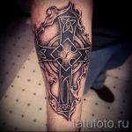 photo - tatouage fraîche sur l'avant-bras pour les hommes - un exemple 1102 tatufoto.ru