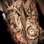 photo - tatouage fraîche sur l'avant-bras pour les hommes - un exemple 2103 tatufoto.ru