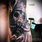 photo - tatouage fraîche sur ses coudes - un exemple 1106 tatufoto.ru