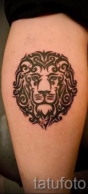 pictures – lion tribal tattoo – an example for an article about the importance of 1033 tatufoto.ru