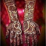 sanfte mehendi auf ihrem Arm - eine temporäre Henna-Tattoo Foto 1198 tatufoto.ru