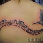 tattoo notes and birds - photos of the finished tattoo on 02082016 2048 tatufoto.ru