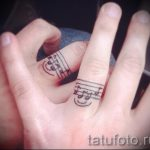 tattoo notes on his hand - a photo of the finished tattoo 02082016 3054 tatufoto.ru