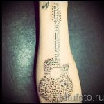 tattoos little notes - photos of the finished tattoo 02082016 1076 tatufoto.ru