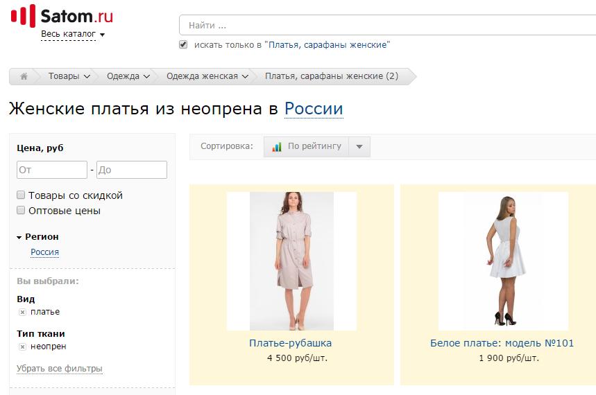 Женские платья из неопрена - фото