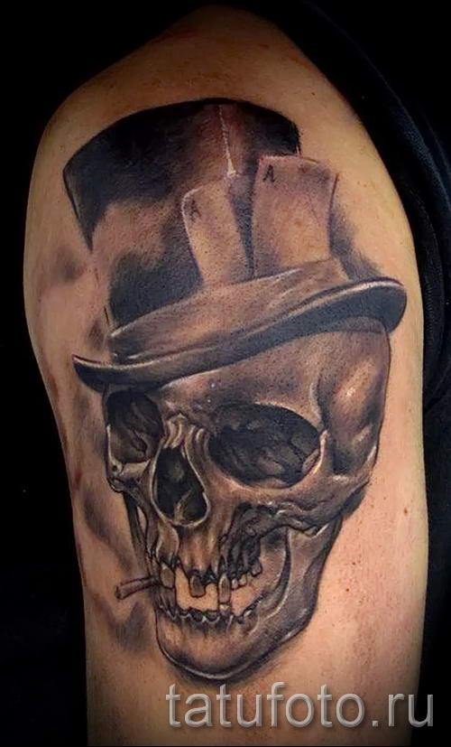 Значение черепа татуировки
