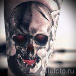 Тату Череп фото - тату удача счастье богатство 1380 tatufoto.ru