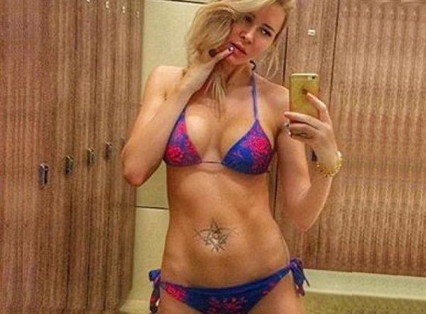 Элина Камирен (Карякина), участница ДОМ 2 – решила удалить неудачную тату на животе - фото 1