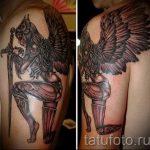 оберег-валькирия-тату-фото-вариант-готовой-татуировки-2017