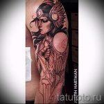 оберег-валькирия-тату-фото-вариант-готовой-татуировки-5020