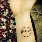 очень простые тату - фото готовой татуировки 02092016 1152 tatufoto.ru