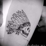 простые татуировки для мужчин - фото пример готовой татуировки 02092016 1381 tatufoto.ru