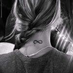 простые тату бесконечность - фото готовой татуировки 02092016 8187 tatufoto.ru