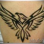 простые тату животных - фото готовой татуировки 02092016 5220 tatufoto.ru