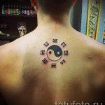 простые тату иероглифы - фото готовой татуировки 02092016 5232 tatufoto.ru