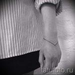 простые тату из линий - фото готовой татуировки 02092016 7239 tatufoto.ru